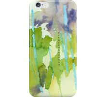 Watercolor Abstraction: Crayon iPhone Case/Skin