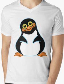 The Penguin Mens V-Neck T-Shirt