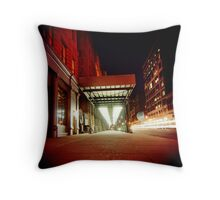 Holga Night Throw Pillow
