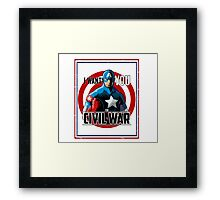 Captain America - Civil War  Framed Print
