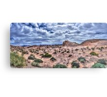 Deserts of Nevada I Metal Print
