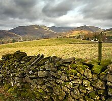 View across to the Fairfield Fells by Steve  Liptrot