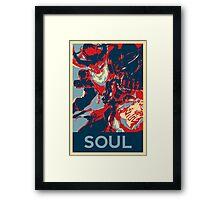 Thresh - League Of Legends - Bloodmoon - Soul Framed Print