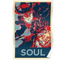 Thresh - League Of Legends - Bloodmoon - Soul Poster