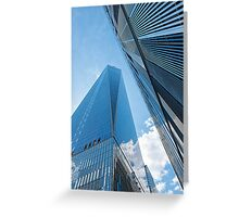 The Freedom Tower, New York City Greeting Card