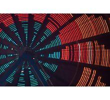 Spinning Light Photographic Print