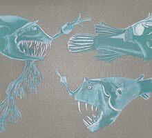Scary Fish by Paula Parker