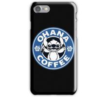 Ohana Coffee - Blue Version iPhone Case/Skin