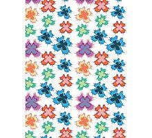 Colourful butterflies pattern by highflier