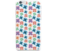 Colourful butterflies pattern iPhone Case/Skin