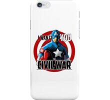 Captain America - Civil War  iPhone Case/Skin