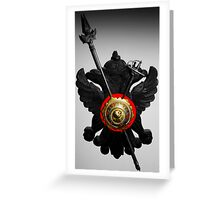 Shield and Sword Greeting Card