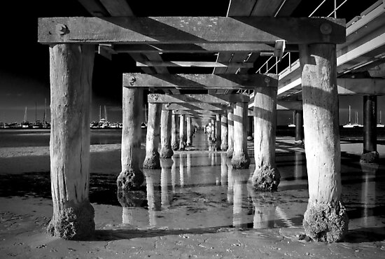 Under the Boardwalk by Frank Yuwono