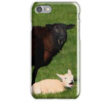 Ungulate family iPhone Case/Skin