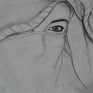 arabic eye in progress by zouzou