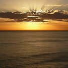 Sunset On The Great Ocean Road by SeanDalby