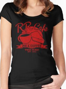 RR Cafe Women's Fitted Scoop T-Shirt