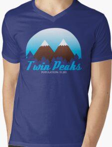 Twin Peaks Mens V-Neck T-Shirt