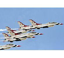 Daytona 500 Flyover Photographic Print