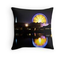 Reflections of The Mart, 2009 Throw Pillow