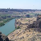 Canyon Spring Golf Course-Twin Falls Idaho by Kim Hajdu