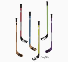 Hockey Sticks by SaucyMitts