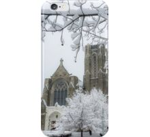 The Church of St. Mary/St. Paul in Winter iPhone Case/Skin