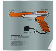 Nes Zapper Shoot them! Poster