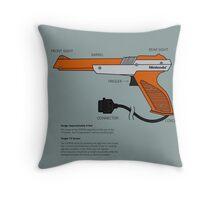 Nes Zapper Shoot them! Throw Pillow