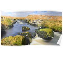 Dartmoor: The East Dart at Kit Rocks Poster
