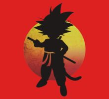 Kid Goku by artemys
