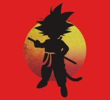 Kid Goku by artemys
