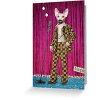 Animal Collection -- Boogie Nights Greeting Card