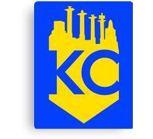 KC Skyline Crown Canvas Print