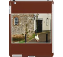 We're out for a Walk iPad Case/Skin