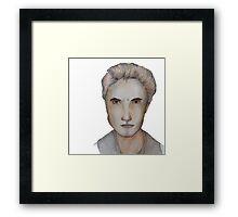 Edward Cullen Watercolour Framed Print