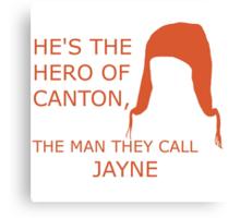 Hero of Canton Canvas Print
