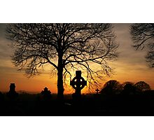 celtic sunset Photographic Print