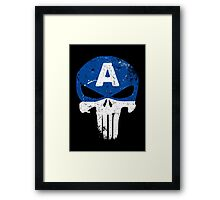 Captain Punisher Framed Print
