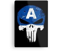 Captain Punisher Metal Print
