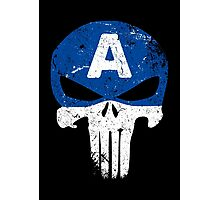 Captain Punisher Photographic Print