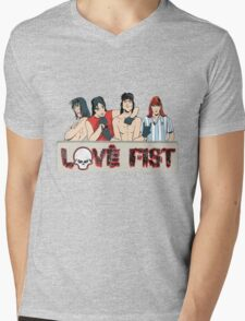 Love Fist Strikes Again! Mens V-Neck T-Shirt