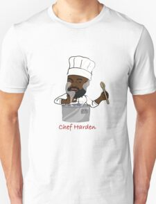 Chef Harden (Red Text) T-Shirt