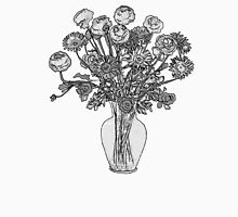 Because a Vase of Flowers Unisex T-Shirt
