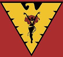 The Dark Phoenix by Kaiju Wear