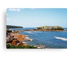 Bare Island Fort Canvas Print
