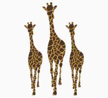 Safari Giraffe One Piece - Long Sleeve
