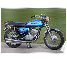 1971 Kawasaki H1 Poster