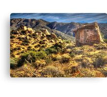 Monolith on the Trail at Sears-Kay Ruins Metal Print