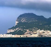 Rock of Gibraltar by LisaRoberts